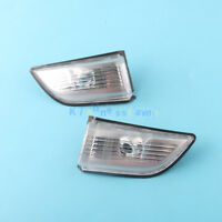 Pair Driver + Passenger Front Mirror Repeater Lens For VOLVO XC60 2009-2013