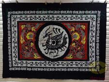 "Art Wall Hanging Batik Tapestry-Chinese South Guardian God:Vermilion Bird 47x63"""