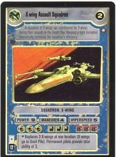 Star Wars CCG Reflections II Foil X Wing Assault Squadron