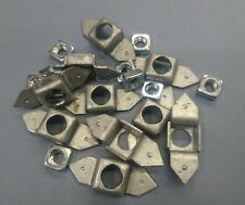 """GPW AND WILLYS MB 1/4"""" UNC CAGE NUTS BAG OF TEN ALSO FOR OTHER MILITARY VEHICLES"""