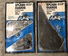 Mr Gasket Chrome Splash Guards Front Rear NOS Vintage