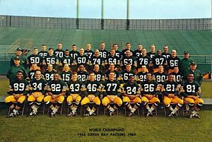 1965 NFL Green Bay Packers Super Bowl / World Champion Team Picture 8 X 10 Photo