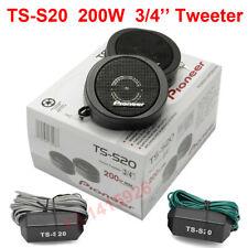 TS-S20 200W Pioneer High Power Car Loud 3/4'' Dome Tweeter Speaker Systems Black