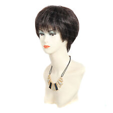Wiwigs Precioso corto lacio negro marrón y castaño peluca superior señoras de la piel
