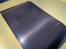 "Brushed Blue Steel textured Vinyl Wrap Sample piece 5"" x 9"" inches"