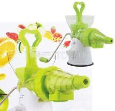 Multi centrifugeuse plastique acier inoxydable de fruits jus d'orange nectar maker machine 691