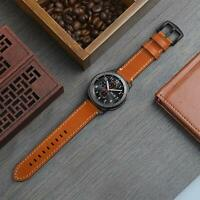 SWEES Leather Bands Compatible Gear S3 Frontier & Classic and Galaxy Watch 46mm,