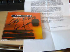 CUSTOM Hey Mister CD 4 Track - Signed with press sheet