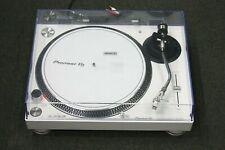 Pioneer PLX-500 Direct-Drive Vinyl Turntable White In Color LOOK!!!