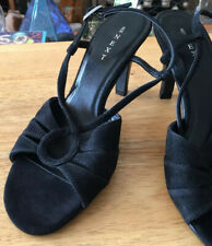 Next high heels size 6 used Black Suede