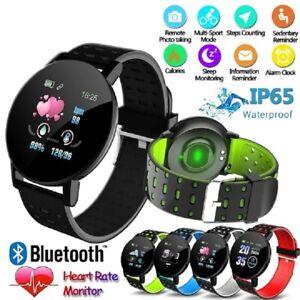 Montre Connectée Bluetooth Smartwatch 119 plus ios iPhone Samsung Etanche Sport