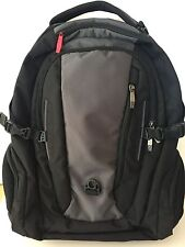 Wenger Black and Gray Expandable Backpack NWOT