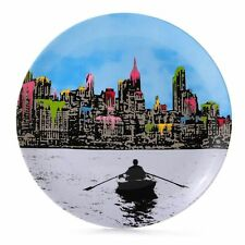 Royal Doulton Street Art The Morning After New York Nick Walker Plate - New/Box!