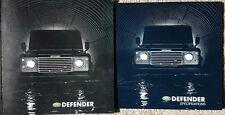 Land Rover Defender 90 110 130 Sales Brochure and Spec Guide - 2002