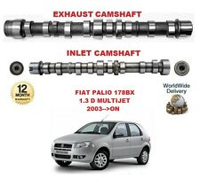 FOR FIAT PALIO 1.3 D MULTIJET 2003-->ON ENGINE INLET & EXHAUST CAMSHAFT