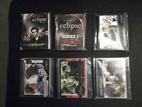 Twilight Saga Eclipse Lot of 6 Non Sports Promotional Trading Card Sets