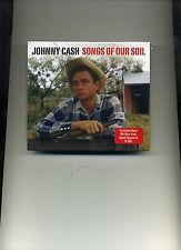 JOHNNY CASH - SONGS OF OUR SOIL - 2 CDS - NEW!!