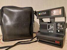 POLAROID 600 Land Camera Autofocus 640 + Tasche  Retro Sofortbildkamera