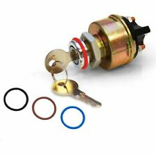 Classic Billet Ignition Switch with 4 Color O-Rings Keep It Clean KICBSW1A001