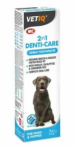 Mark & Chappell 2 in 1 Denti-Care for Dogs & Puppies 70g No Brushing Tartar Fres