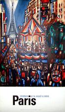 GROMAIRE POSTER PARIS LE 14 JUILLET, 1964