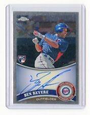 2011 TOPPS CHROME #175 BEN REVERE AUTOGRAPH AUTO ROOKIE CARD RC, MINNESOTA TWINS