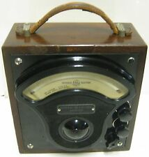 1938 General Electric Ammeter W/Bakelite Face No. 1425068 Type P3