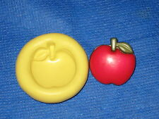 Apple Silicone Mold #287 for Resin Clay Candy Chocolate Card Craft fimo