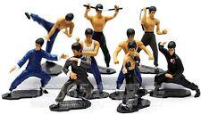Bruce Lee le roi de chinois Kung Fu Anime Action Figure Set 7pc UK nouveau