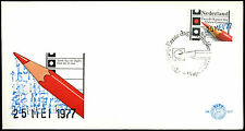 Netherlands 1977 Elections To Lower House, FDC First Day Cover #C36139