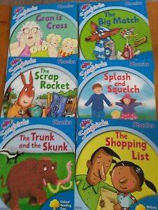 Oxford Reading Tree Songbirds Phonics Stage 3 Early Learning To Read x 6 Books