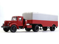 MAZ-200V Tractor-Trailer Soviet Truck 1952 Year 1/43 Scale Collectible Model Car