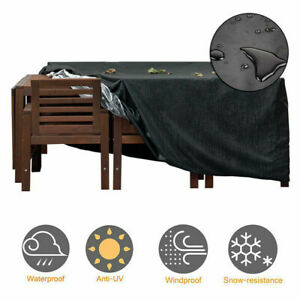 Heavy Duty Patio Furniture Table Cover For Rattan Table Cube Sets Outdoor Garden