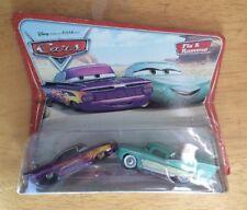 MOC! PIXAR CARS SERIES 1 FLO & RAMONE 1:55 DIE-CAST VEHICLES SET