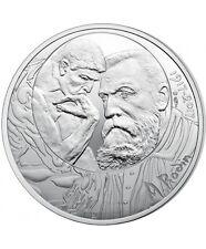 """Pièce de 10 euros argent """"Auguste Rodin"""" 2017."""
