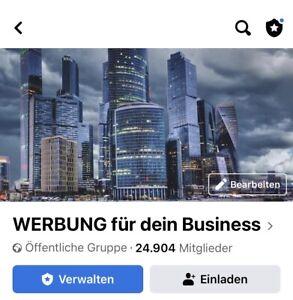 Gruppe Werbung… mit 24000 aktive Mitglieder
