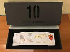 Fascia Capitano Francesco Totti Limited edition AS ROMA 2017 Solo 3000pcs