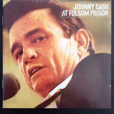 JOHNNY CASH AT FOLSOM PRISON Columbia CD 2000 classic reissue  + 3 bonus tracks