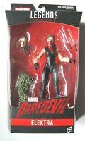 Marvel Legends ELEKTRA NETFLIX action figure (Man-thing BAF!)