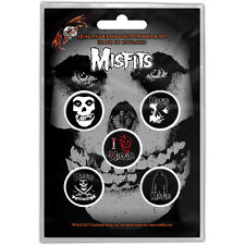 The Misfits - Badge Collection - New and Official - Made in the UK!