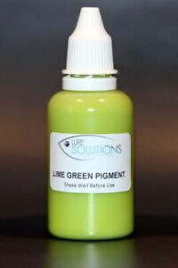 Soft Plastic Colour Pigment 30ml LIME GREEN (opaque )