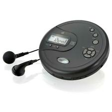 GPX Portable CD Player with FM Radio and 60-Second Anti Skip & Earbuds