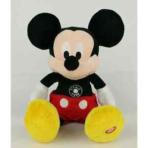 "Disney Hallmark Mickey Mouse 16"" Plush Ticklish Talking Laughing Motion Works"