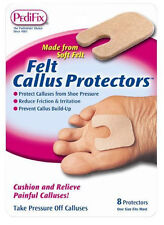 Pedifix Felt Callus Protectors - 8 ct