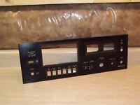 Sansui SC-2002 Cassette Deck Original  Face Plate Part Part