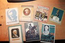JOHN HANCOCK INSURANCE BOOKS Robert E Lee Lincoln, Jackson, Edison, Hancock