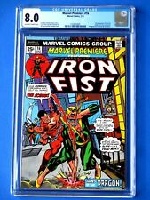 Marvel Premiere #16 - CGC 8.0 - 2nd Appearance of Iron Fist