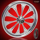 "Harley Davidson 21"" inch Custom Front Wheel ""Wizard"" & Pirelli Tire"