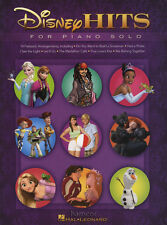 Disney Hits for Piano Solo Sheet Music Book Frozen Tangled Enchanted Up Brave