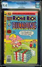 Richie Rich Billions #33 Harvey CGC 9.4 Dec-79 – High Jump